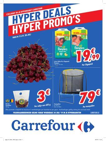 Carrefour reclame folder (geldig t/m 29-07)