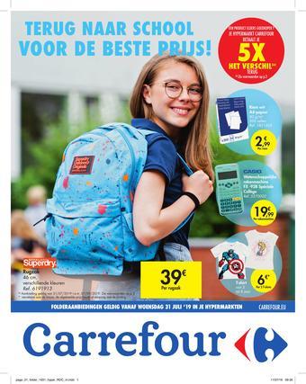 Carrefour reclame folder (geldig t/m 07-09)