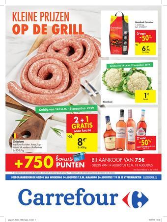 Carrefour reclame folder (geldig t/m 26-08)