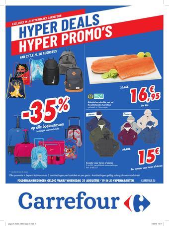 Carrefour reclame folder (geldig t/m 02-09)