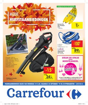 Carrefour reclame folder (geldig t/m 30-09)