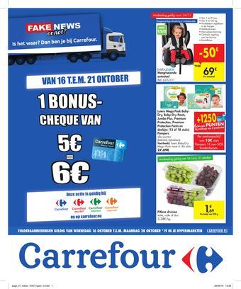 Carrefour reclame folder (geldig t/m 28-10)