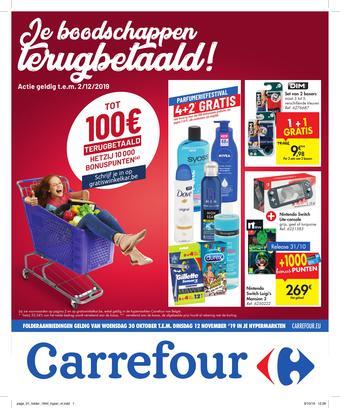Carrefour reclame folder (geldig t/m 02-12)