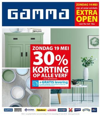 GAMMA reclame folder (geldig t/m 27-05)