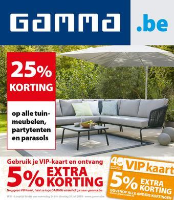 GAMMA reclame folder (geldig t/m 30-07)