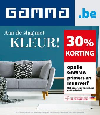 GAMMA reclame folder (geldig t/m 02-09)