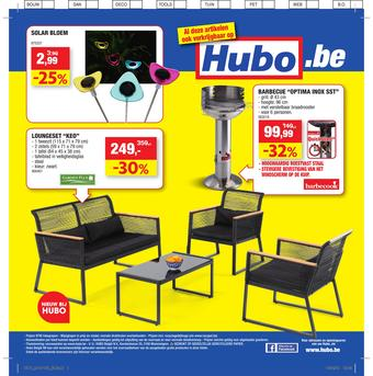 Hubo reclame folder (geldig t/m 26-05)