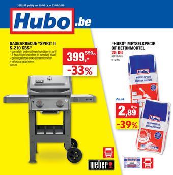 Hubo reclame folder (geldig t/m 23-06)