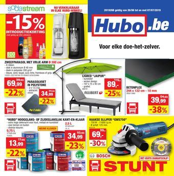 Hubo reclame folder (geldig t/m 07-07)