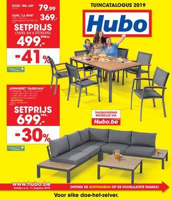 Hubo reclame folder (geldig t/m 11-08)
