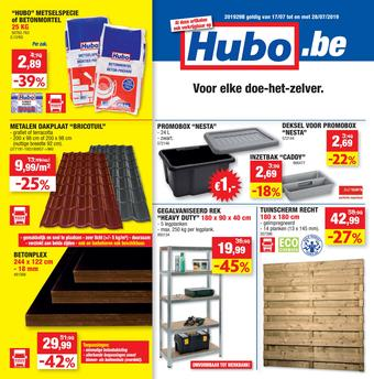 Hubo reclame folder (geldig t/m 28-07)