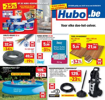 Hubo reclame folder (geldig t/m 04-08)