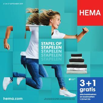 Hema reclame folder (geldig t/m 17-09)