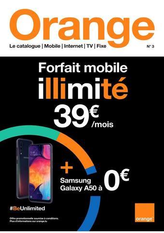 Orange reclame folder (geldig t/m 30-09)