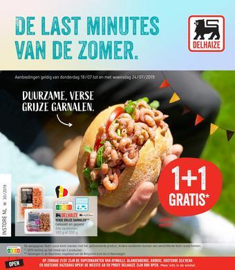Delhaize reclame folder (geldig t/m 24-07)