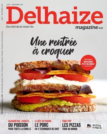Delhaize reclame folder (geldig t/m 30-09)