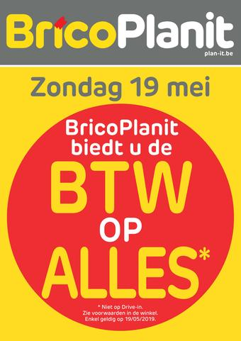 Brico Plan-it reclame folder (geldig t/m 27-05)