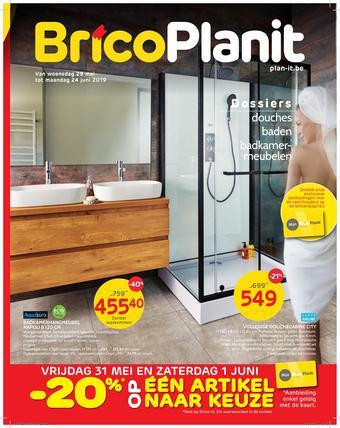 Brico Plan-it reclame folder (geldig t/m 24-06)