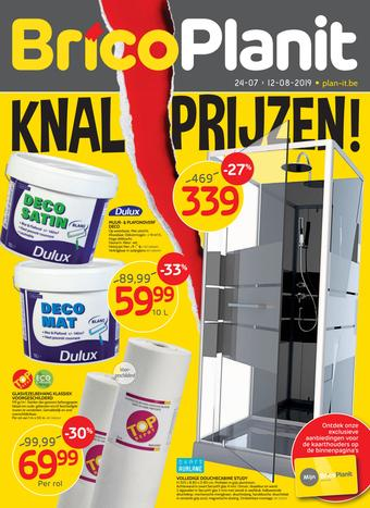 Brico Plan-it reclame folder (geldig t/m 12-08)