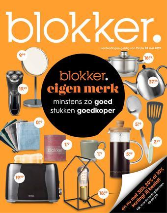 Blokker reclame folder (geldig t/m 28-05)