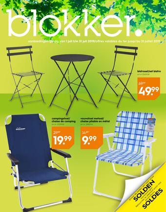 Blokker reclame folder (geldig t/m 31-07)