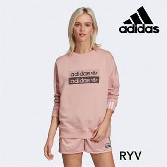 Adidas reclame folder (geldig t/m 31-10)