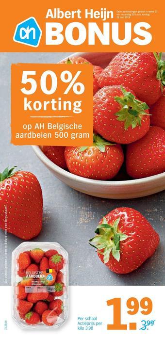 Albert Heijn reclame folder (geldig t/m 26-05)