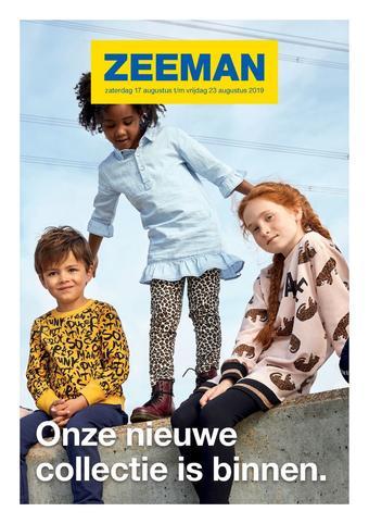 Zeeman reclame folder (geldig t/m 23-08)