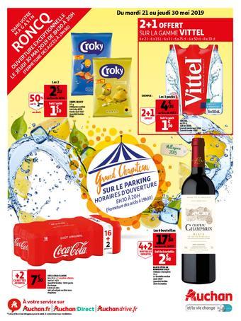 Auchan reclame folder (geldig t/m 30-05)