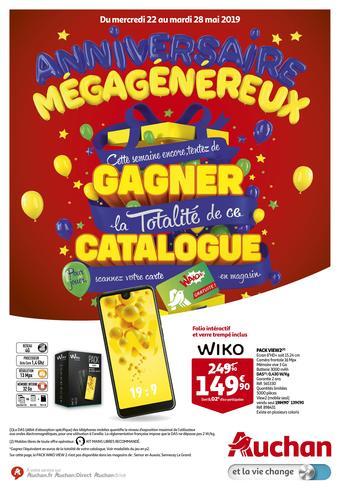 Auchan reclame folder (geldig t/m 28-05)