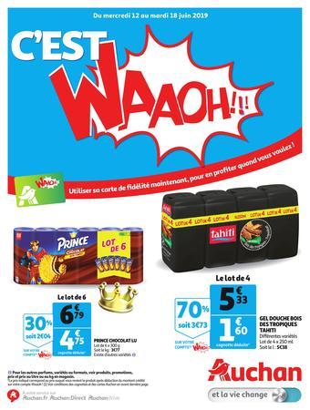 Auchan reclame folder (geldig t/m 18-06)