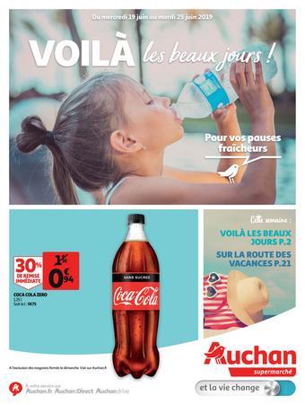 Auchan reclame folder (geldig t/m 25-06)