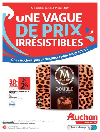 Auchan reclame folder (geldig t/m 27-07)