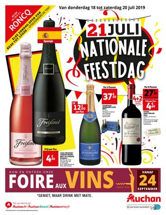 Auchan reclame folder (geldig t/m 20-07)