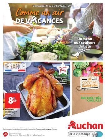 Auchan reclame folder (geldig t/m 30-07)