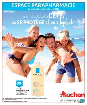 Auchan reclame folder (geldig t/m 31-08)