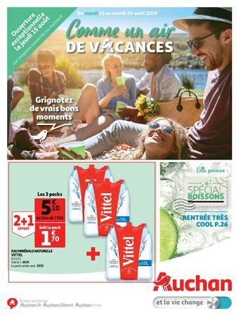 Auchan reclame folder (geldig t/m 20-08)