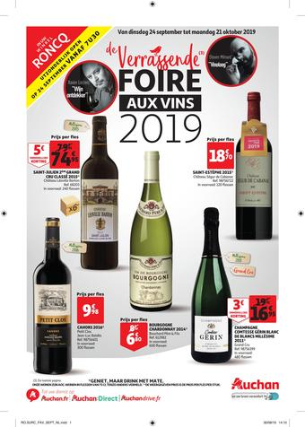 Auchan reclame folder (geldig t/m 21-10)