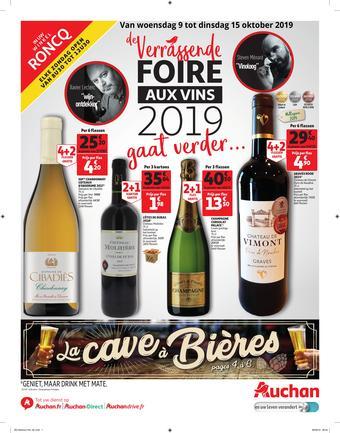 Auchan reclame folder (geldig t/m 15-10)