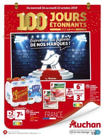 Auchan reclame folder (geldig t/m 22-10)