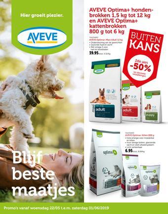 AVEVE reclame folder (geldig t/m 01-06)