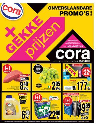 Cora reclame folder (geldig t/m 24-06)