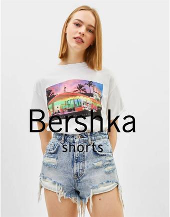 Bershka reclame folder (geldig t/m 30-06)
