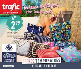 Trafic reclame folder (geldig t/m 20-05)