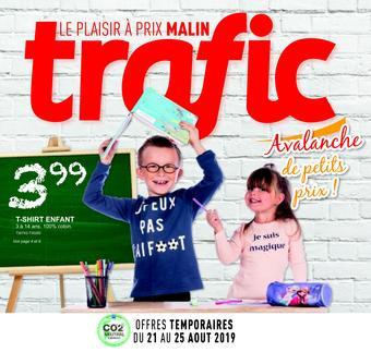 Trafic reclame folder (geldig t/m 27-08)