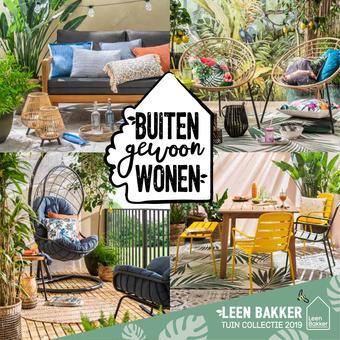 Leen Bakker reclame folder (geldig t/m 30-09)