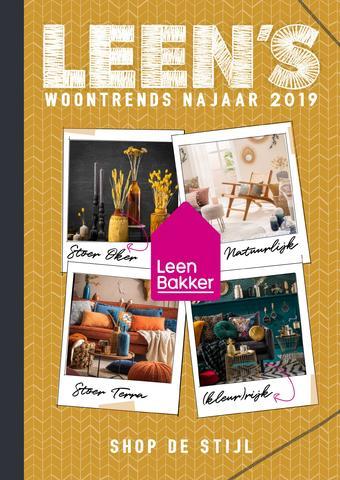 Leen Bakker reclame folder (geldig t/m 27-10)