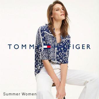 Tommy Hilfiger reclame folder (geldig t/m 07-08)