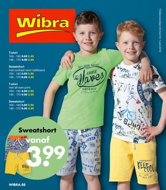 Wibra reclame folder (geldig t/m 01-06)