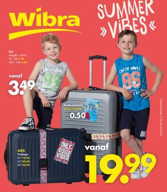 Wibra reclame folder (geldig t/m 29-06)